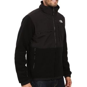 NORTH FACE Denali Black Zip-Up Fleece